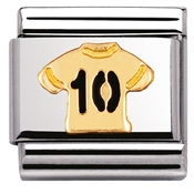 Nomination No.10 Shirt Charm