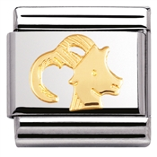 Nomination Capricorn Charm