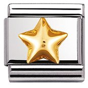 Nomination Raised Star Charm