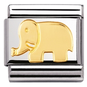 Nomination Elephant Charm