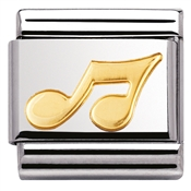 Nomination Musical Note Charm