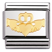 Nomination Claddagh Charm