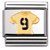 Nomination No.9 Shirt Charm