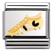 Nomination Enamel Football Boot Charm