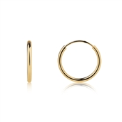 Argento Gold Small Hoop Earrings