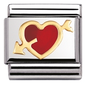Nomination Pierced Heart Charm