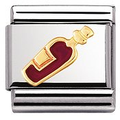 Nomination Red Wine Charm