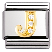 Nomination Cubic Zirconia J Charm
