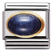 Nomination Oval Sapphire Charm