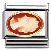 Nomination Oval Cameo Charm