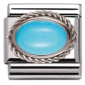Nomination Framed Turquoise Charm