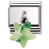 Nomination Green Star Charm