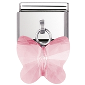 Nomination Pink Butterfly Charm