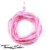Thomas Sabo Pink Silk Charm Ribbon
