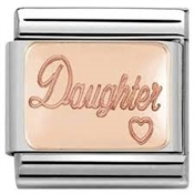 Nomination Rose Gold Daughter Charm