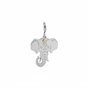 Nomination Pendant in Stainless Steel with Elephant Symbol