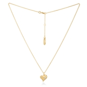 Vivienne Westwood Gold Alice Heart Necklace