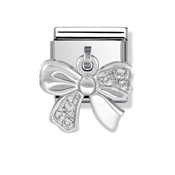 Nomination Bow Charm