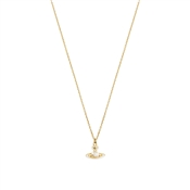 Vivienne Westwood Iris Gold Pearl Necklace