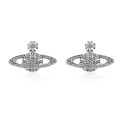 Vivienne Westwood Mini Bas Silver Earrings