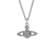 Vivienne Westwood Mini Bas Silver Necklace
