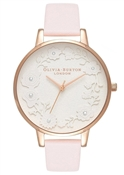 Olivia Burton Artisan Dial Blossom & Rose Gold Watch