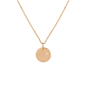 August Woods Rose Gold Crystal Orb Necklace