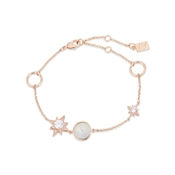 August Woods Rose Gold Crystal Star Opal Bracelet