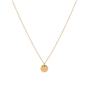 August Woods Rose Gold Double Tag Engravable Necklace