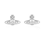 Vivienne Westwood Silver Thin Lines Stud Earrings