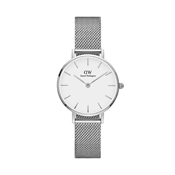 Daniel Wellington Petite White Sterling 28mm Silver Watch