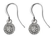 Pilgrim Silver Drop Clementine Earrings