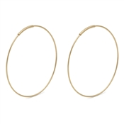 Pilgrim Gold Raquel Hoop Earrings