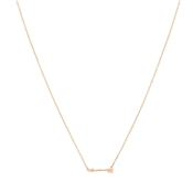 Karma Rose Gold Arrow Necklace