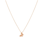 Karma Rose Gold Butterfly Necklace