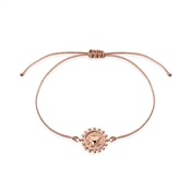 Karma Rose Gold Heart Pull Bracelet