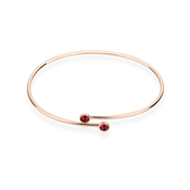 Karma Rose Gold July Wrap Bangle