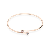 Karma Rose Gold June Wrap Bangle