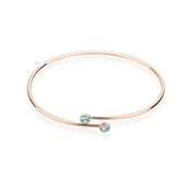 Karma Rose Gold March Wrap Bangle
