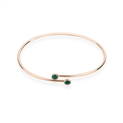 Karma Rose Gold May Wrap Bangle