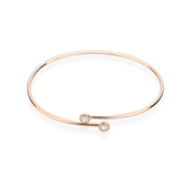 Karma Rose Gold October Wrap Bangle