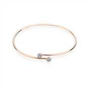 Karma Rose Gold September Wrap Bangle
