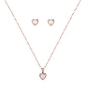 Ted Baker Rose Gold Hadeya Heart Gift Set