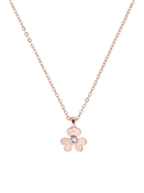 Ted Baker Rose Gold Heart Blossom Necklace