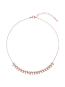 Ted Baker Eada Rose Gold Princess Sparkle Crystal Necklace