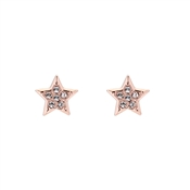 Ted Baker Rose Gold Safire Star Earring