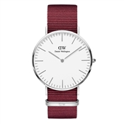 Daniel Wellington Roselyn White 40mm Silver Watch