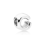 Letter C Charm by Pandora