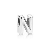 Letter N Charm by Pandora