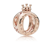 PANDORA Rose Logo Crown Charm